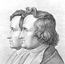 Гримм братья Якоб и Вильгельм