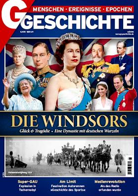''G Geschichte'', № 04 (2016). Die Windsors