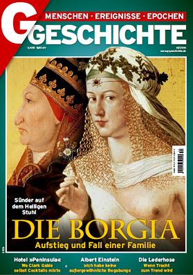 ''G Geschichte'', № 10 (2015). Die Borgia