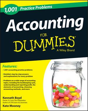1,001 Accounting Practice Problems For Dummies®