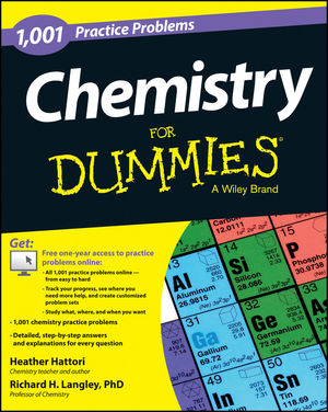 1,001 Chemistry Practice Problems For Dummies®