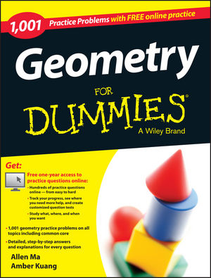 1,001 Geometry Practice Problems For Dummies®