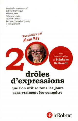 200 drôles d'expressions