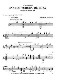 9 кубинских народных песен