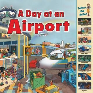 A Day at an Airport [Виммельбухи]