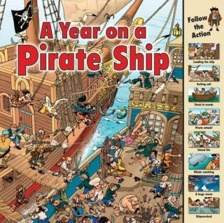 A Year on a Pirate Ship [Виммельбухи]