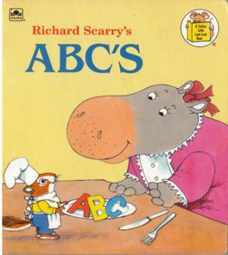 ABC'S [A Golden Little Look-Look Book]