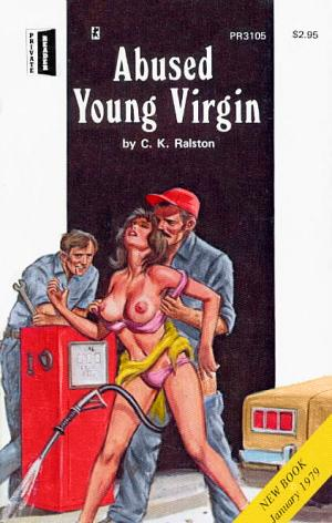 Abused young virgin