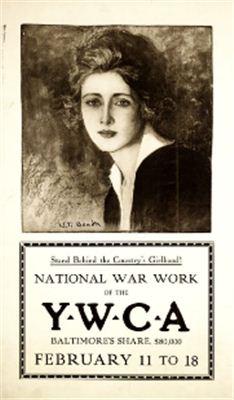 Агитационный плакат США времён I и II мировых войн