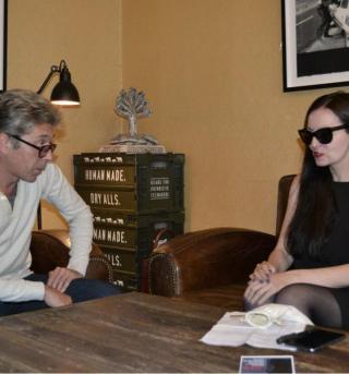 Алина Витухновская в интервью Александру Сотнику: «Я иду в Президенты!»
