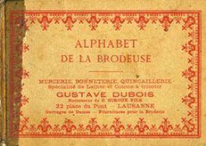 Alphabet de La Brodeuse/Азбука вышивальщицы