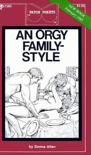 An orgy family-style
