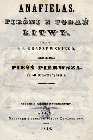 Anafielas. Pieśń II. Mindows
