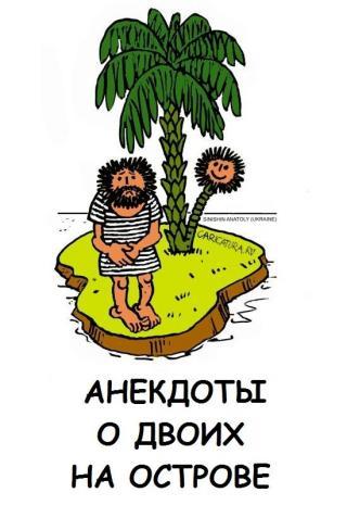 Анекдоты о двоих на острове