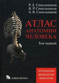 Атлас анатомии человека: Учебное пособие. Том 1