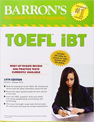 Barron's TOEFL iBT [14th Edition]