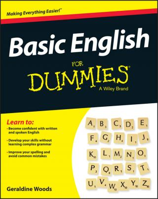 Basic English Grammar For Dummies®