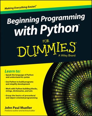 Beginning Programming with Python® For Dummies®