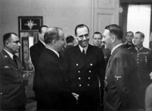 Берлинские переговоры Молотова с Гитлером
