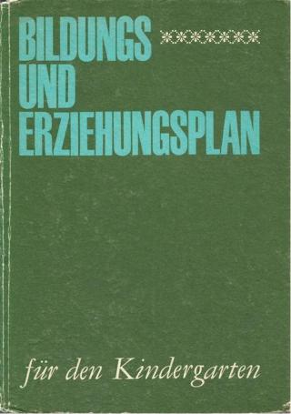Bildungs- und Erziehungsplan für den Kindergarten (DDR / Deutsche Demokratische Republik)