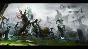 Bury me beneath a tree... (СИ)
