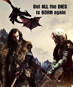 But all that dies... Is born again (СИ)