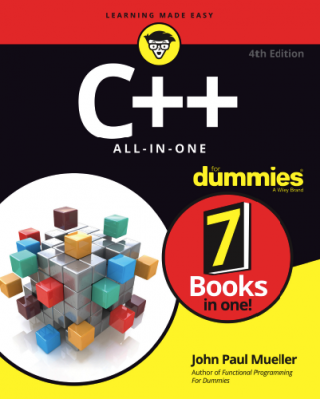 C++ All-in-One For Dummies [4th Edition]