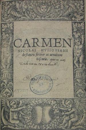 Carmen de Bisontis