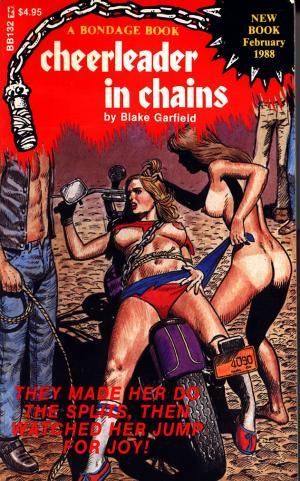 Cheerleader in chains