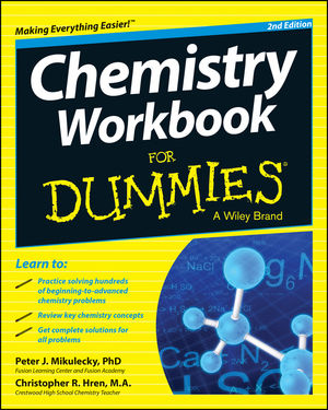 Chemistry Workbook For Dummies® [2nd Edition]