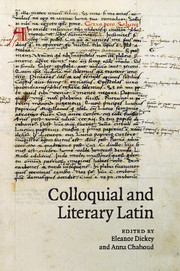 Colloquial and Literary Latin