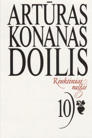 Conan Doyle. Rinktiniai rastai. 10 tomas