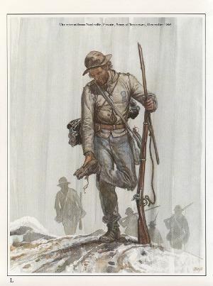 Confederate Infantryman 1861 - 1865