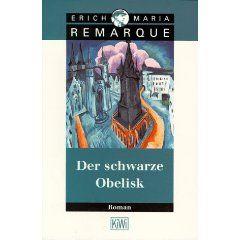Der schwarze Obelisk. Geschichte einer verspäteten Jugend