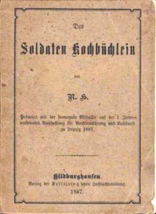Des Soldaten Kochbüchlein (1887)