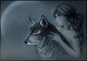 Девочка и Волк (СИ)