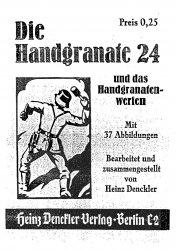 Die Handgranate 24 und das Handgranatenwerfen
