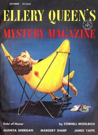 Ellery Queen's Mystery Magazine, Vol. 24, No. 4. Whole No. 131, October 1954
