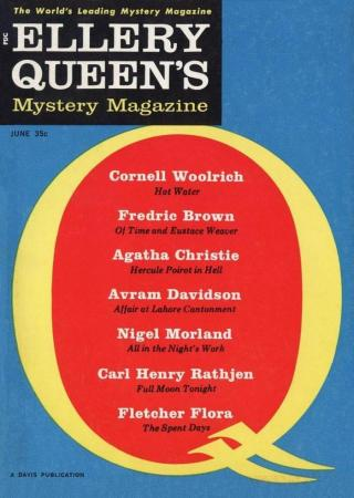 Ellery Queen's Mystery Magazine, Vol. 37, No. 6. Whole No. 211, June 1961