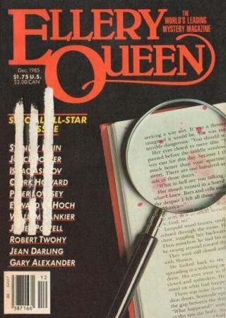 Ellery Queen's Mystery Magazine, Vol. 86, No. 6. Whole No. 511, December 1985