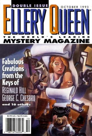 Ellery Queen's Mystery Magazine. Vol. 102, No. 4 & 5. Whole No. 618 & 619, October 1993