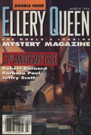 Ellery Queen's Mystery Magazine. Vol. 103, No. 3 & 4. Whole No. 625 & 626, March 1994