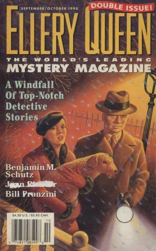 Ellery Queen's Mystery Magazine. Vol. 112, No. 3 & 4. Whole No. 684 & 685, September/October 1998