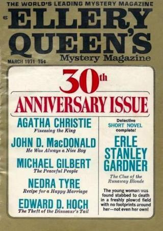 Ellery Queen's Mystery Magazine, Vol. 57, No. 3. Whole No. 328, March 1971