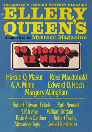 Ellery Queen's Mystery Magazine, Vol. 63, No. 2. Whole No. 363, February 1974