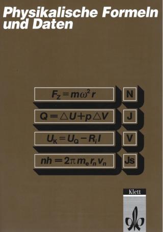 Физические формулы и данные