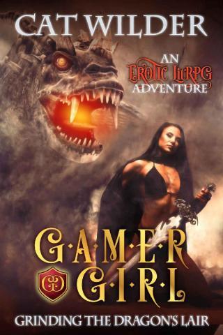 Gamer Girl Grinding the Dragon's Lair