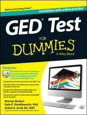 GED Test For Dummies® [3rd Edition]