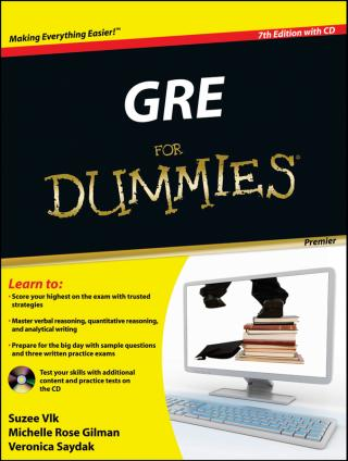GRE® For Dummies® [Premier 7th Edition]