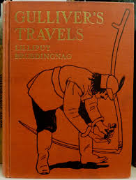 Gulliver's Travels  a voyage to Lilliput, a voyage to Brobdingnag
